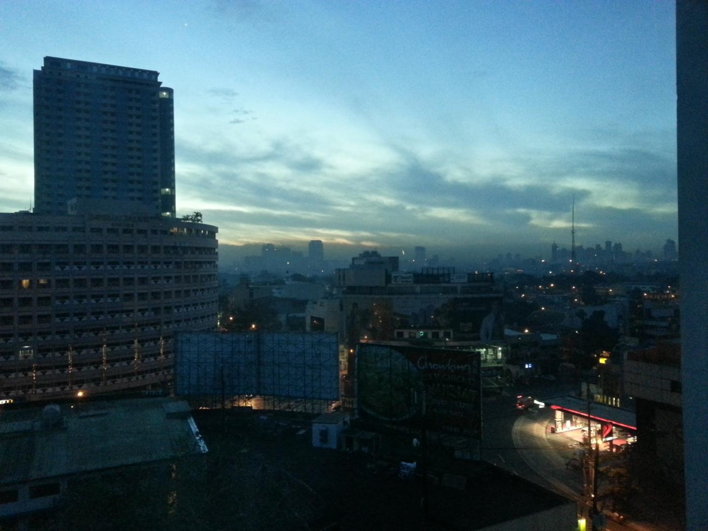 Quezon City at dawn