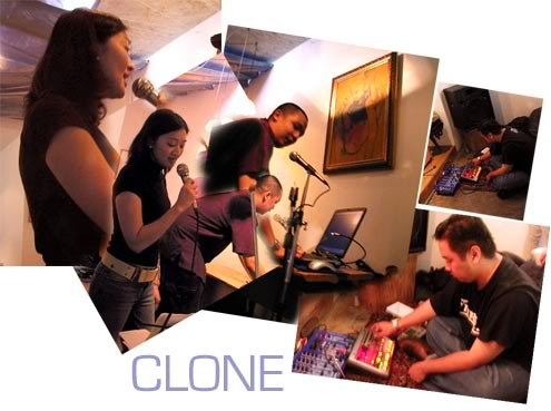 Clone performing live